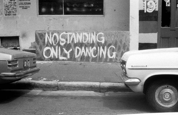 No standing...