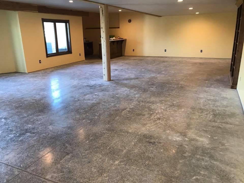 Concrete Sealing Basement Floors-Before