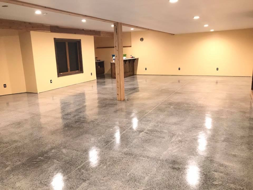 Concrete Sealing Basement Floors-After
