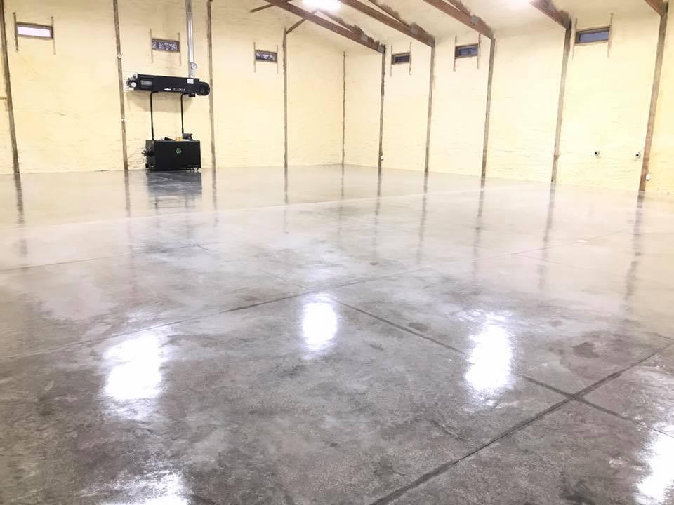 Concrete Sealing Garage Floors-After