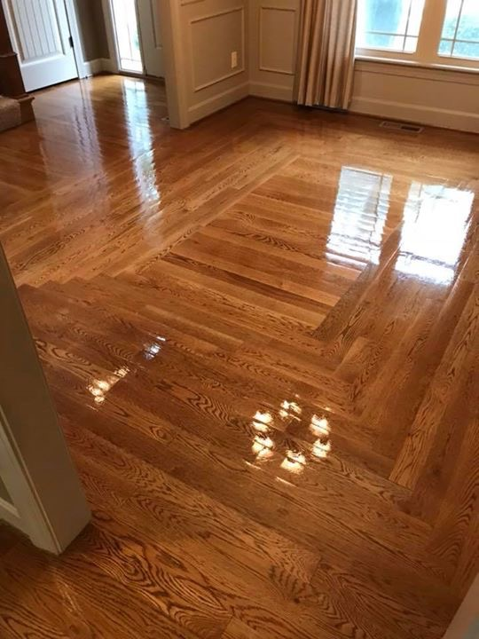 Hardwood Floor Refinishing Special-Kansas City Metro-Heart & Oak