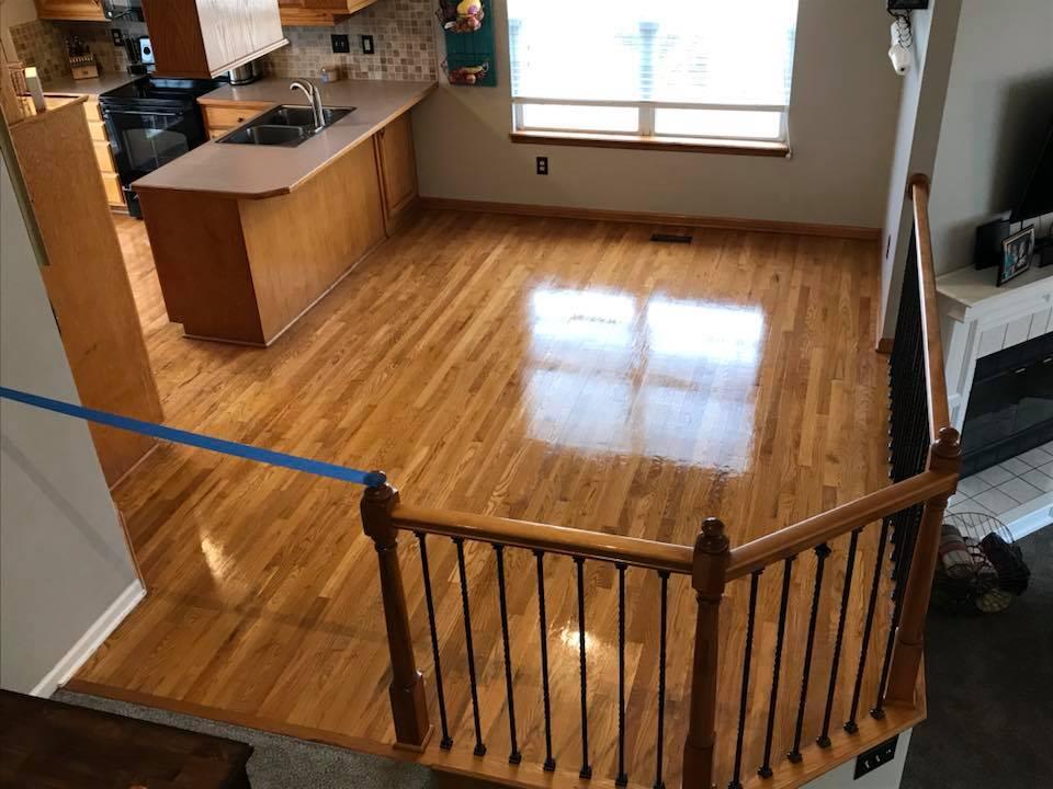 Kansas City, Missouri and Sarasota, Florida Hardwood Cleaning
