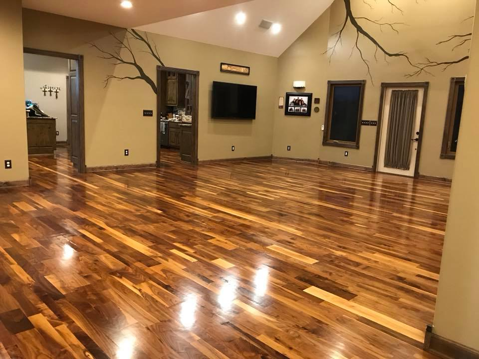 Hardwood Cleaning and Recoating