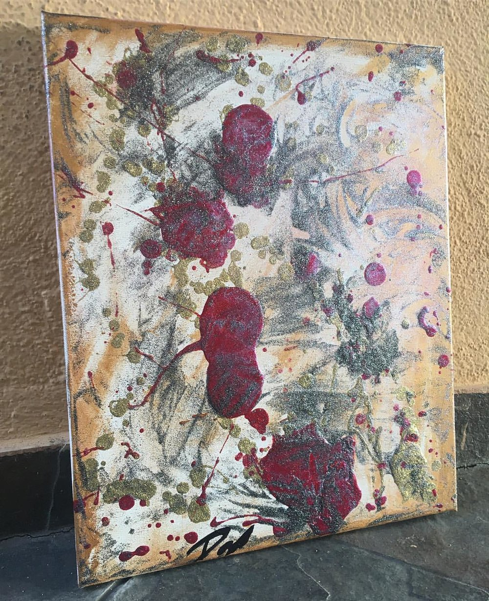 Blood of a Rose 2017 - SOLD