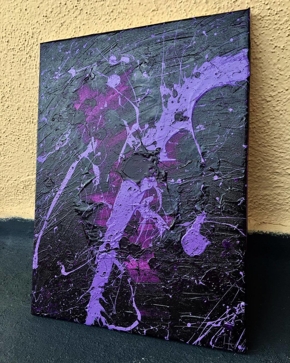 Purple Cosmos 2017 - SOLD