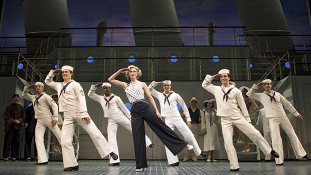 Anything Goes  on Broadway with 2-time Tony winner  Sutton Foster .