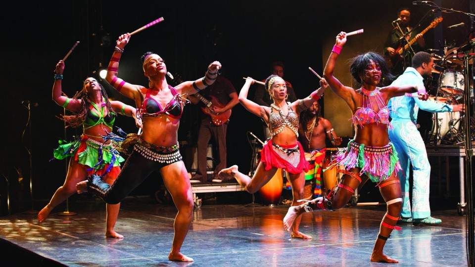 Fela!, the winner of the 2010 Tony for Best Choreography, on Broadway.