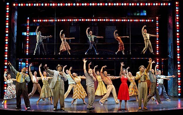 Memphis  on Broadway, the  Best Musical  of the 2010 Tonys.