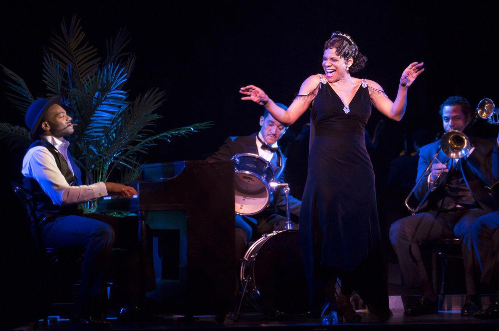 Shuffle Along on Broadway, starring 6-time Tony winner  Audra McDonald .