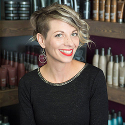 Melinda has been a stylist for over 17 years and an educator for over 4 years. She is certified in Surface Core Trend, Curly & Fine Hair Cutting, and Color. Her energy and passion guarantee a positive and informative guest experience.