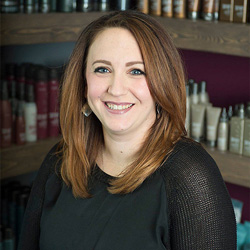 Karin has over 10 years of experience and is certified in both the Surface Core Cutting System and Surface Pure Color. She's attended classes including many at the Summit Salon Business Center to ensure that every guest has the best salon experience.
