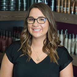 Gina was licensed in 2005 and is now one of our Surface advocates helping train new associates. She specializes in Precision Shear, Razor Cutting, and Fine, Short & Curly textures. Above all, Gina loves creating a relaxing and therapeutic experience.