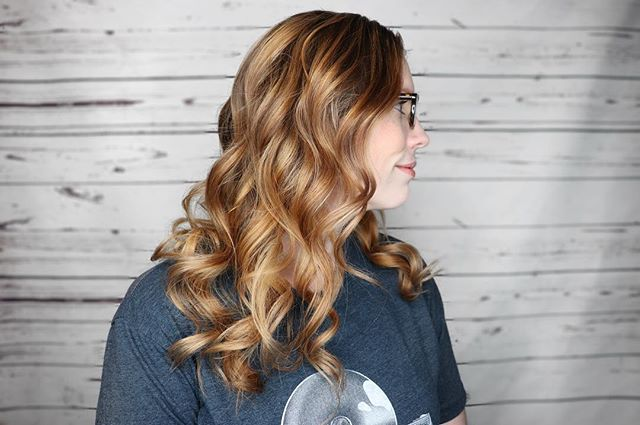 Golden balayage by @shannonmckeebeauty How gorgeous is this color?!