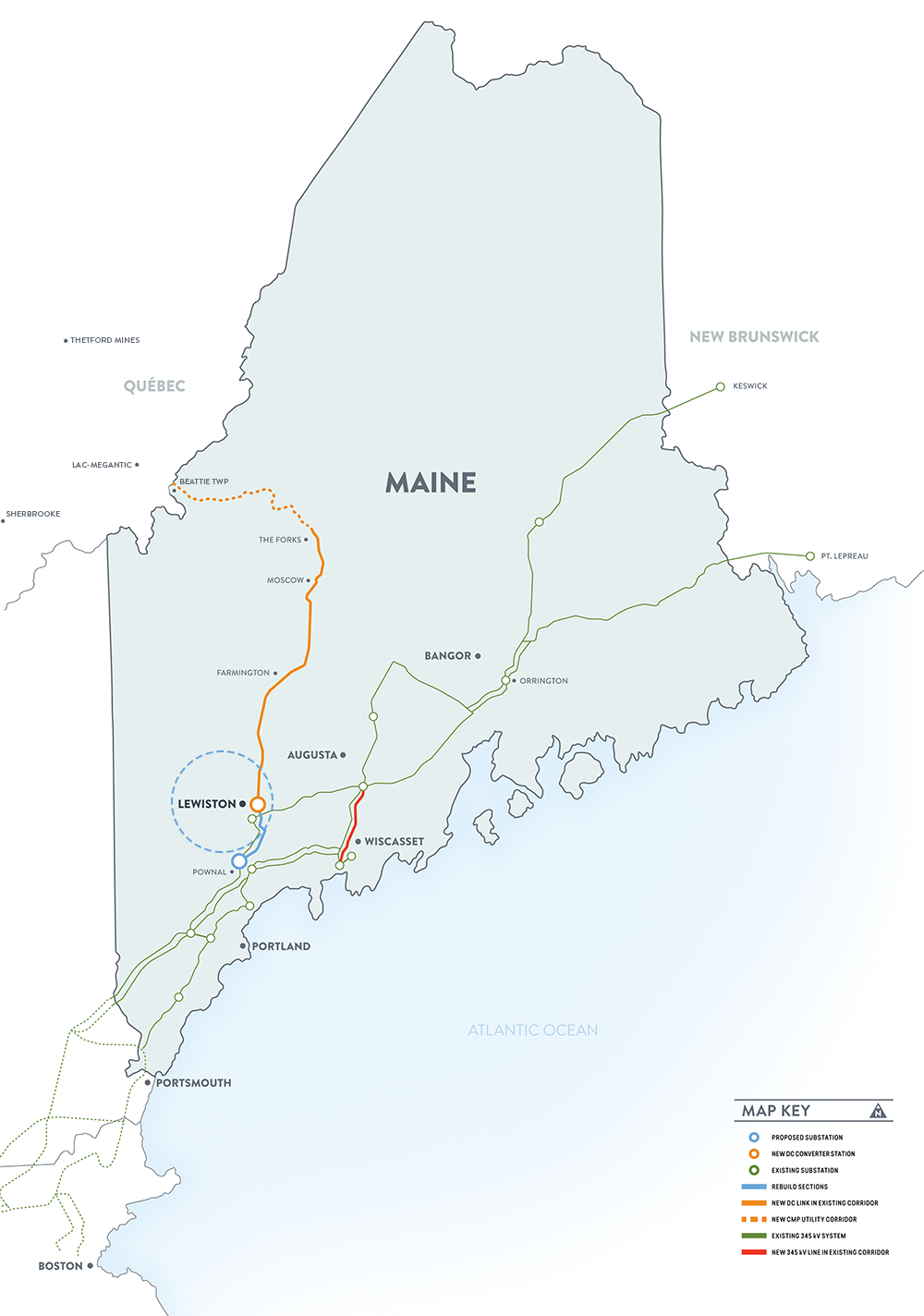 Map — New England Clean Energy Connect