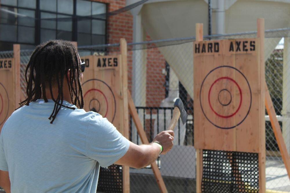 Hard Axes Mobile Axe Throwing Lanes News