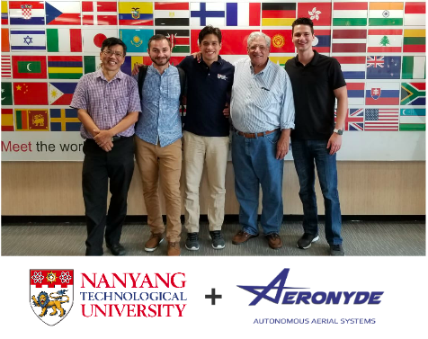 L-R Dr. Kin Huat Low, Alexander Bilous, Edgar Muñoz, Professor Donald Bittar, Guy Newman