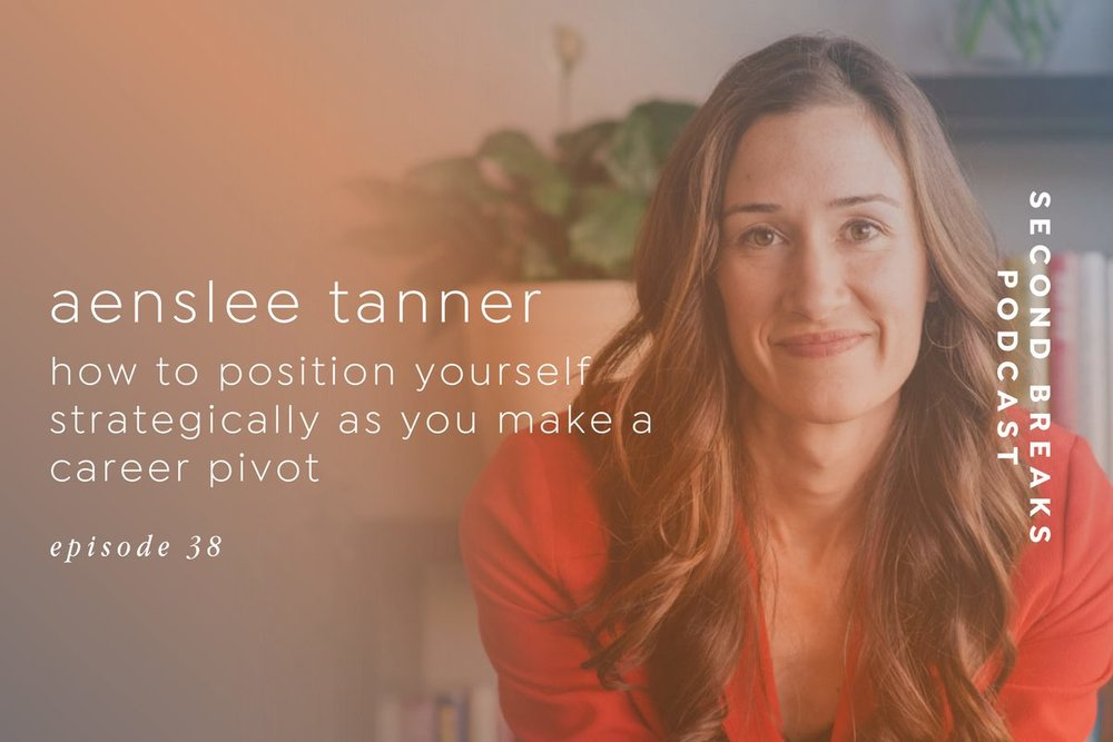 Aenslee Tanner - Strategic personal branding for changing careers
