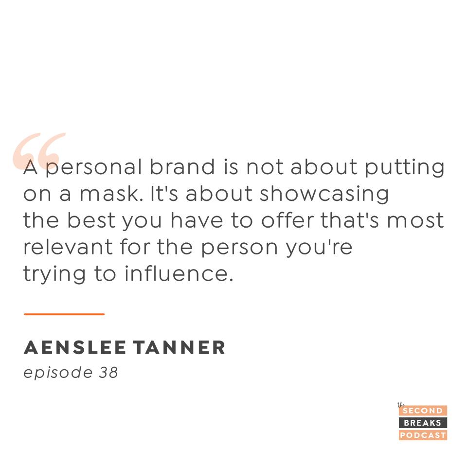 Aenslee Tanner - Strategic Personal Branding