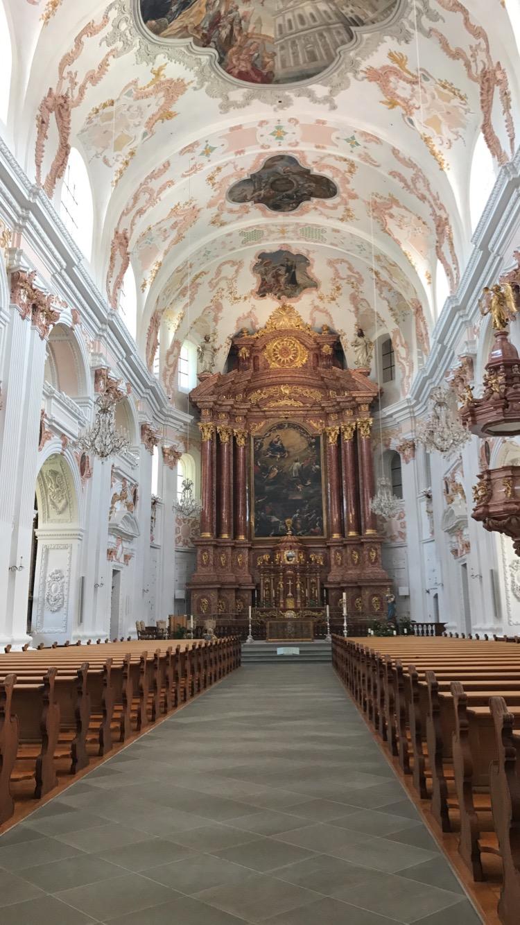 Inside the Jesuit Chapel