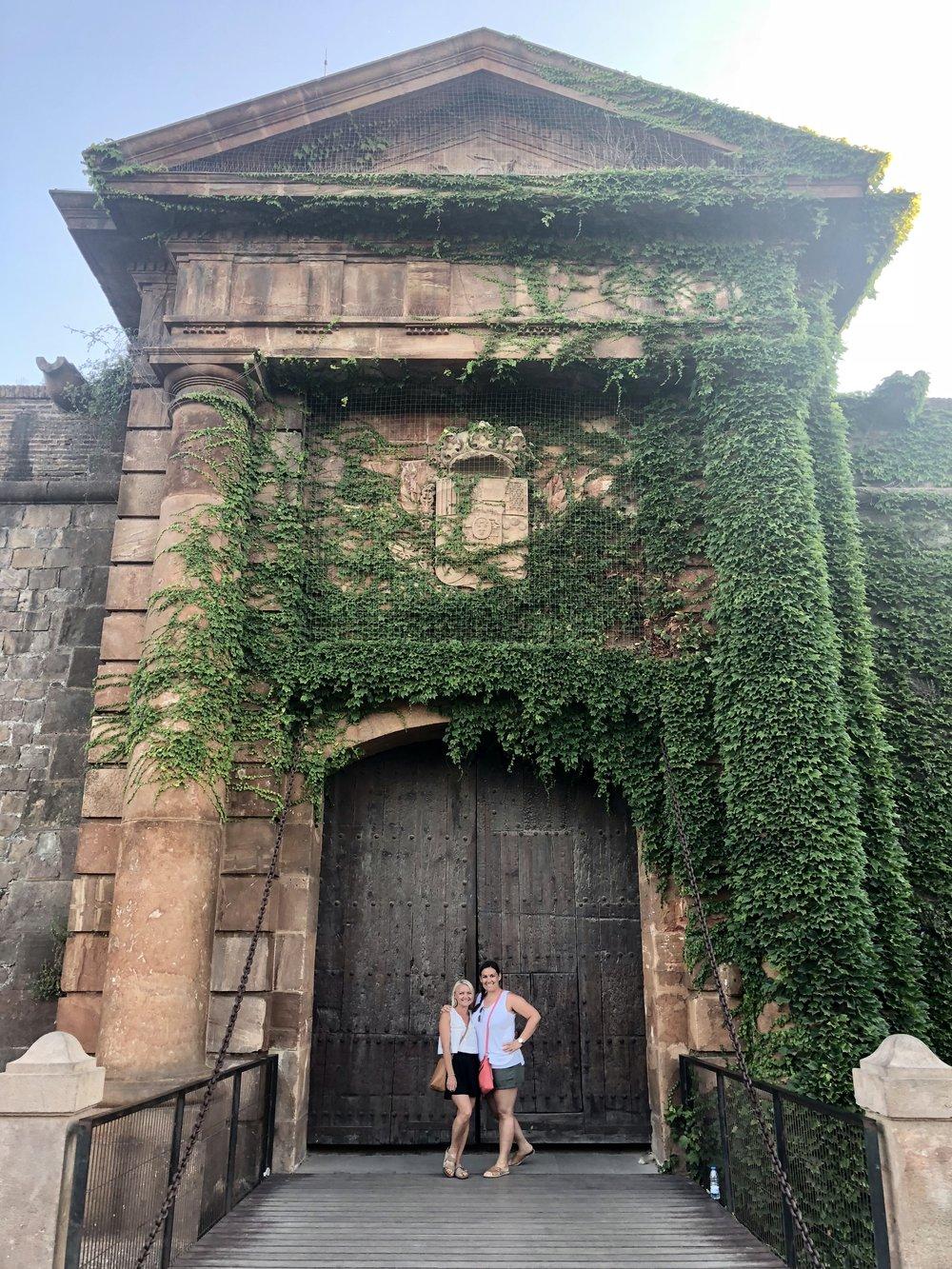 Montjuic Castle gate