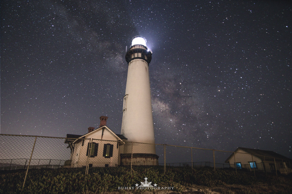 Pigeon Point Lighthouse Criss Cross Matte