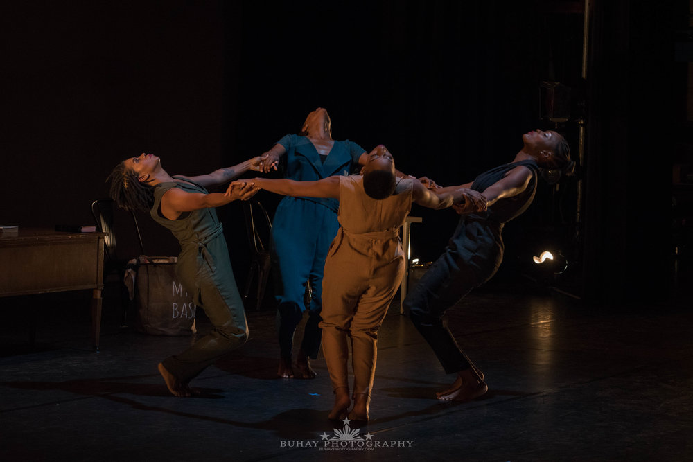 Ross Dance Company  Laney College Theater. Oakland, California 2018