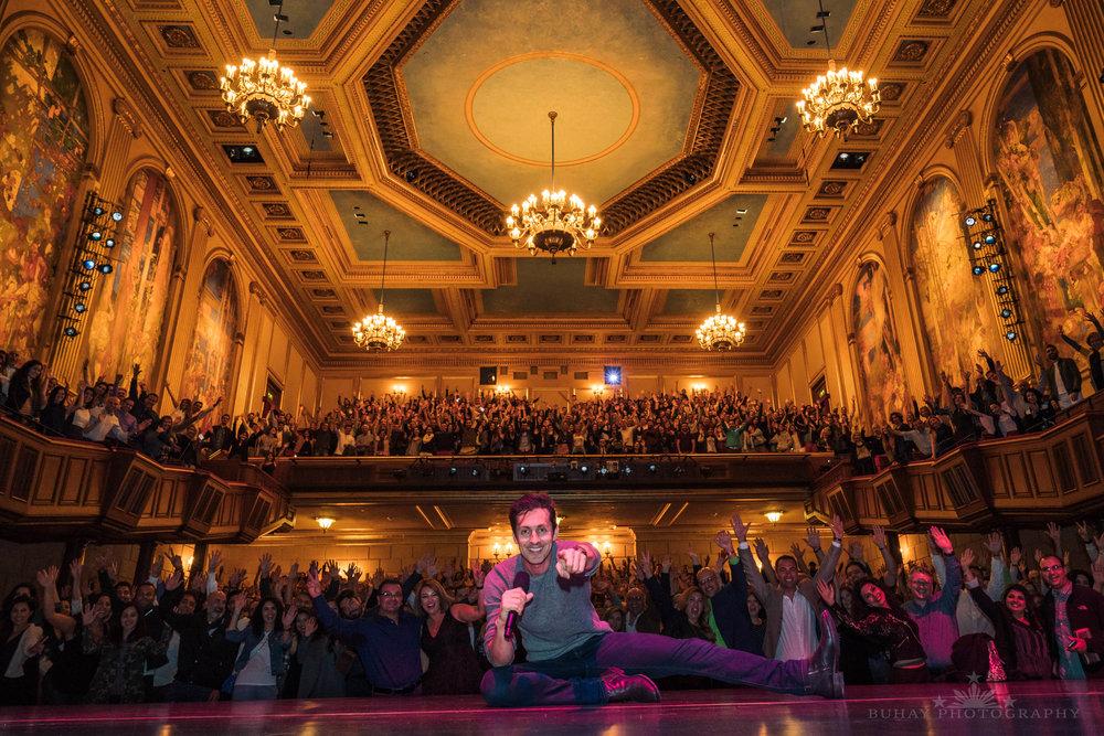 Max Amini  Herbst Theater San Francisco, California
