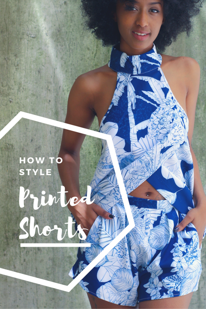 How to style printed shorts