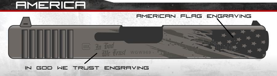 america glock slide tac 3 defense