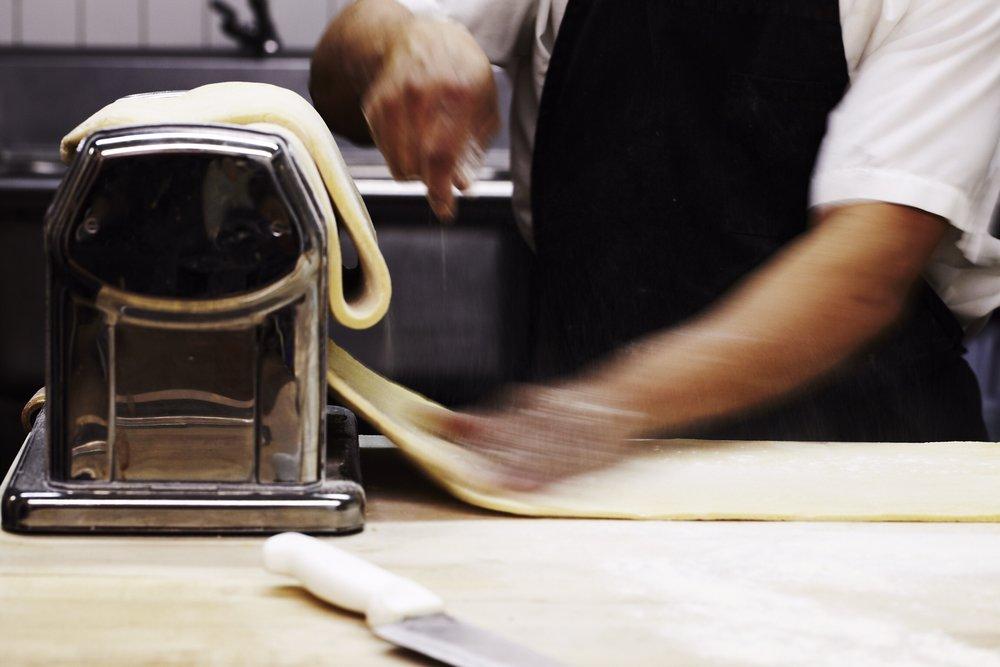 Pasta Preparation