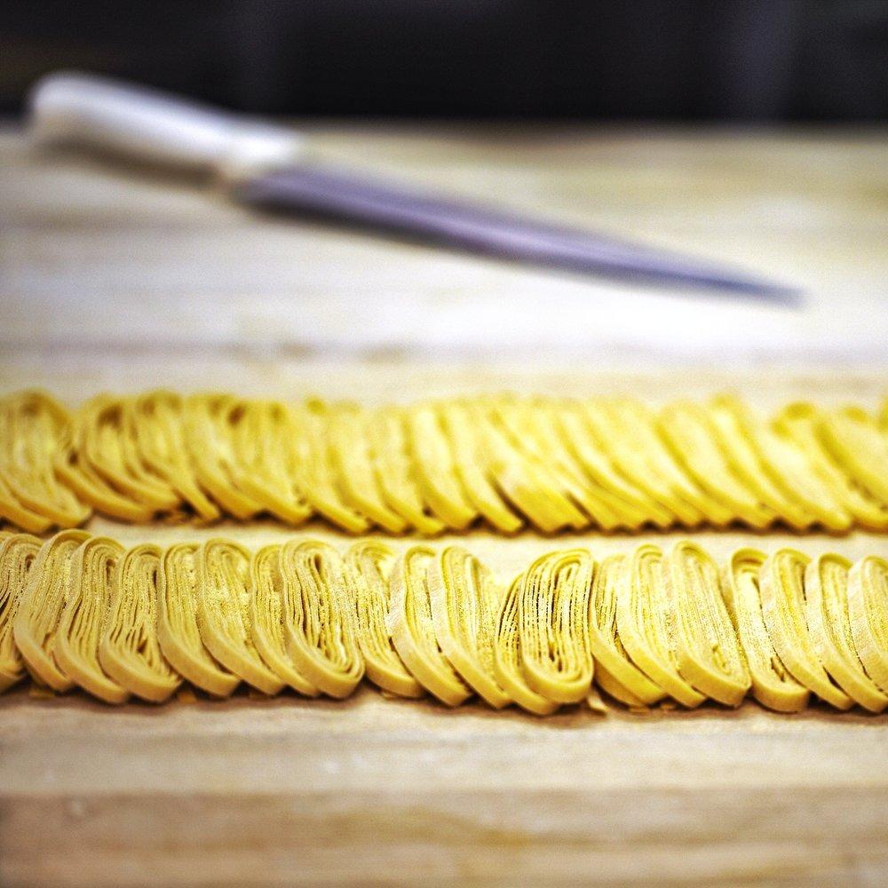 Fresh Handmade Tagliatelle