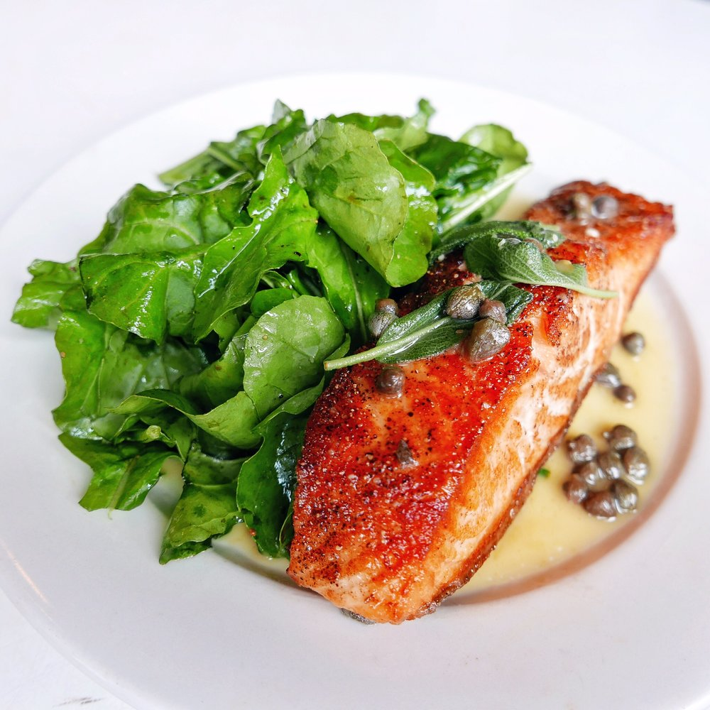 Seared Salmon with Brown Butter