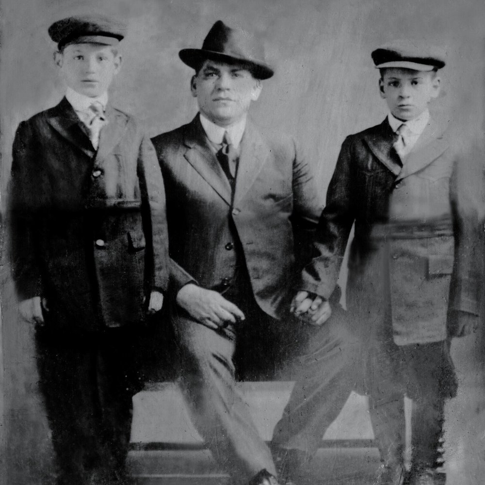Frank's Great Grandfather and his Two Sons
