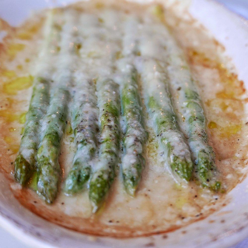 Asparagus alla Parmigiana
