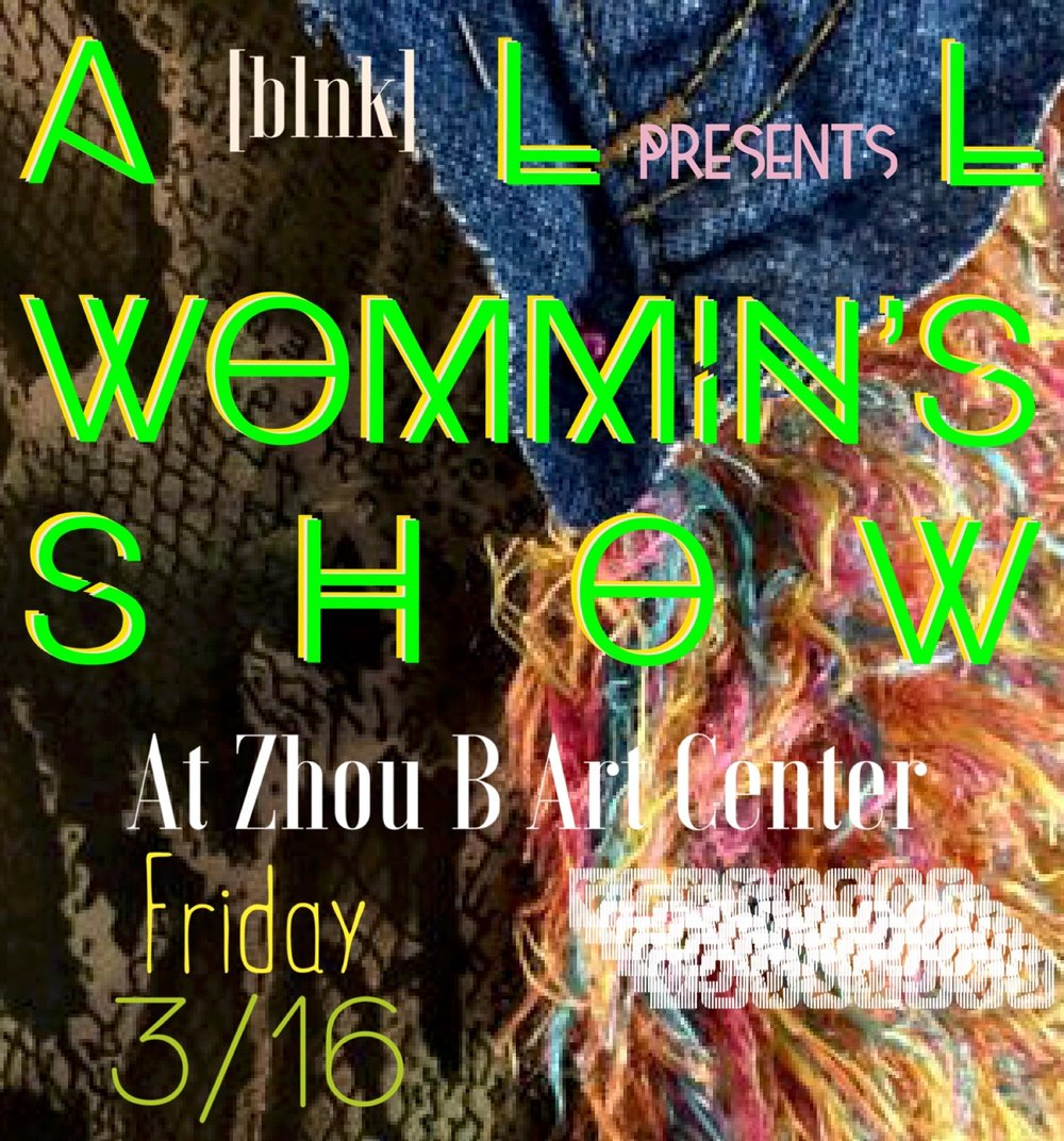 Join us for this awesome women's show this Friday 3/16