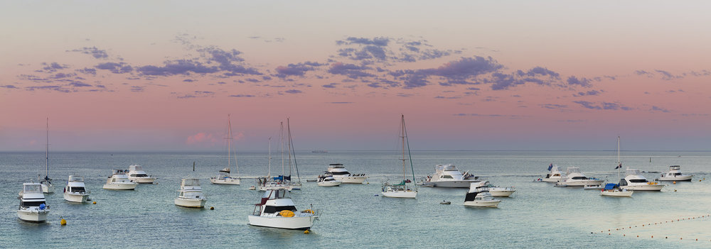 LONGREACH BAY - POST SUNSET HUES