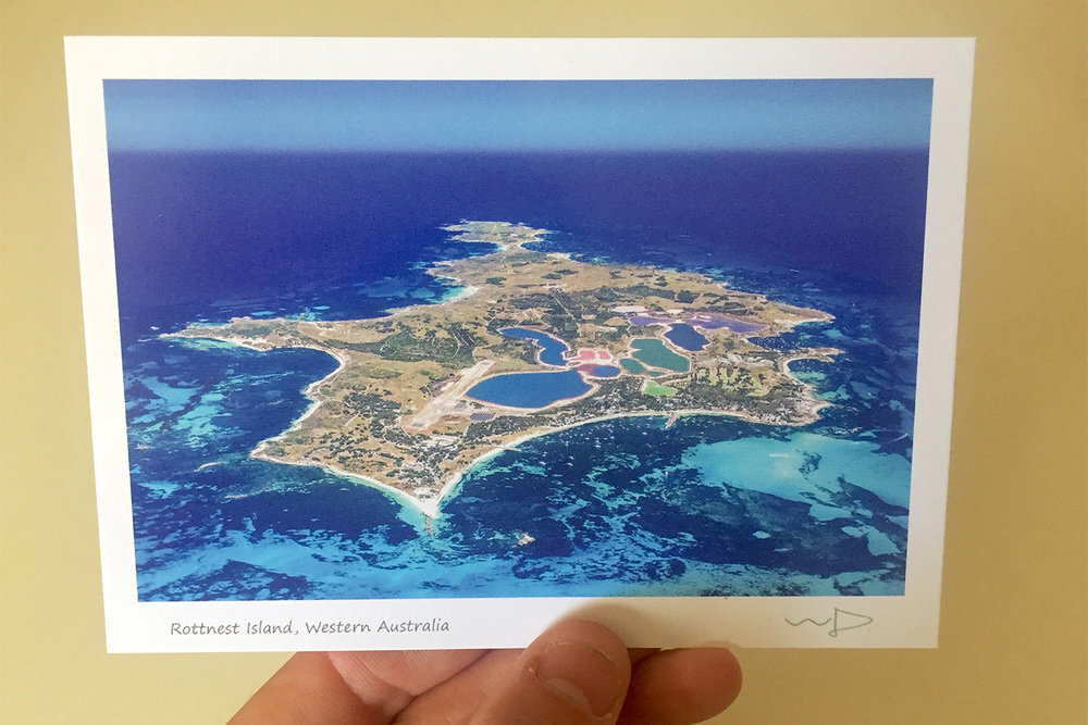 The incredible views I captured out the window of the Rottnest Air Taxi.