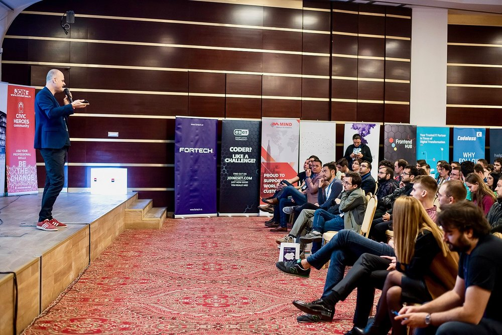 Launch of Fun & Fearless leadership @ Codecamp Iași