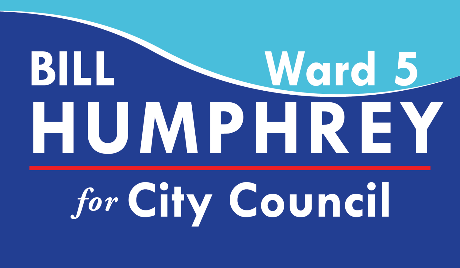 Bill Humphrey for Ward 5 Newton