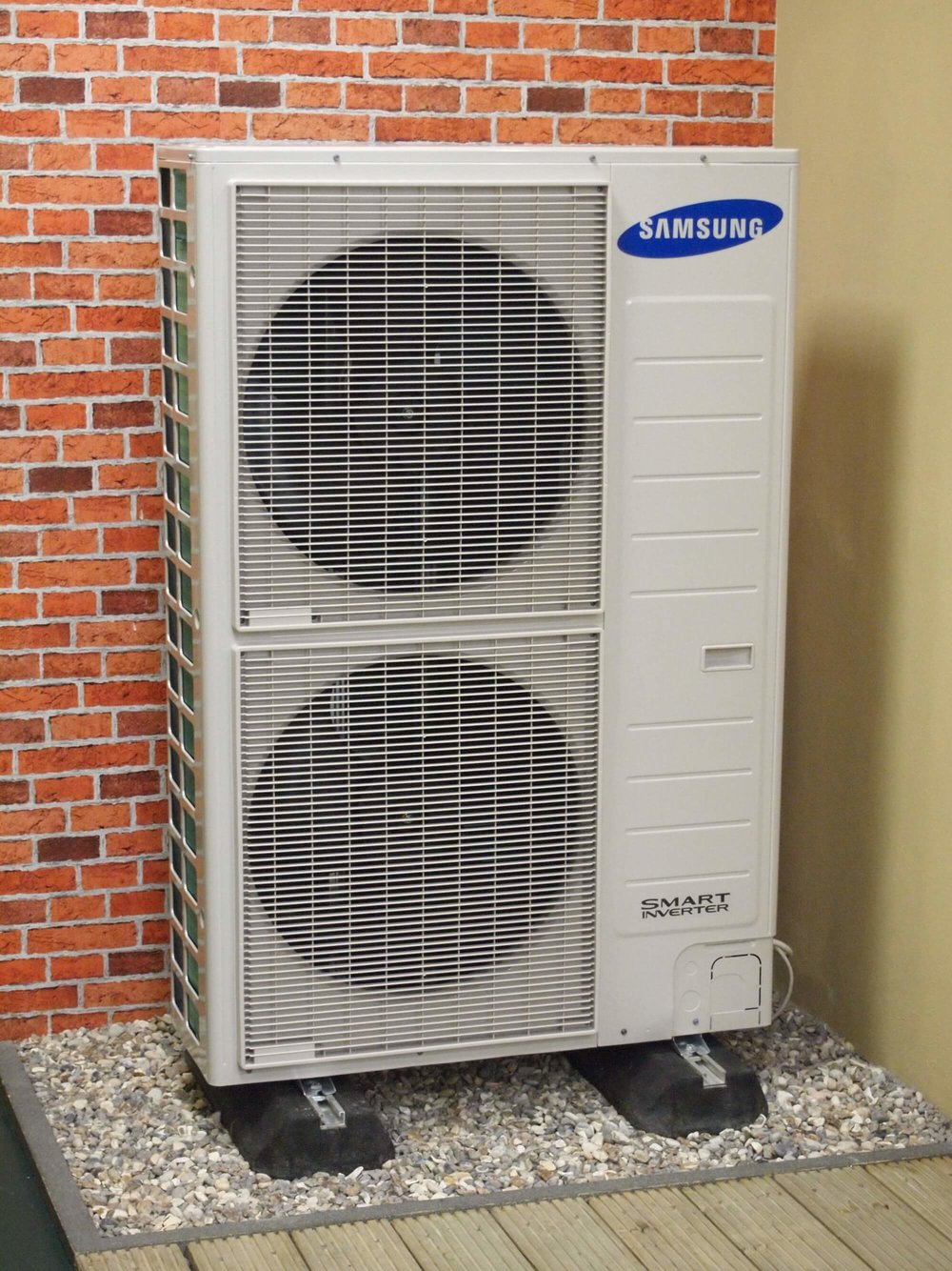 Samsung Air Source Heat Pump Installation