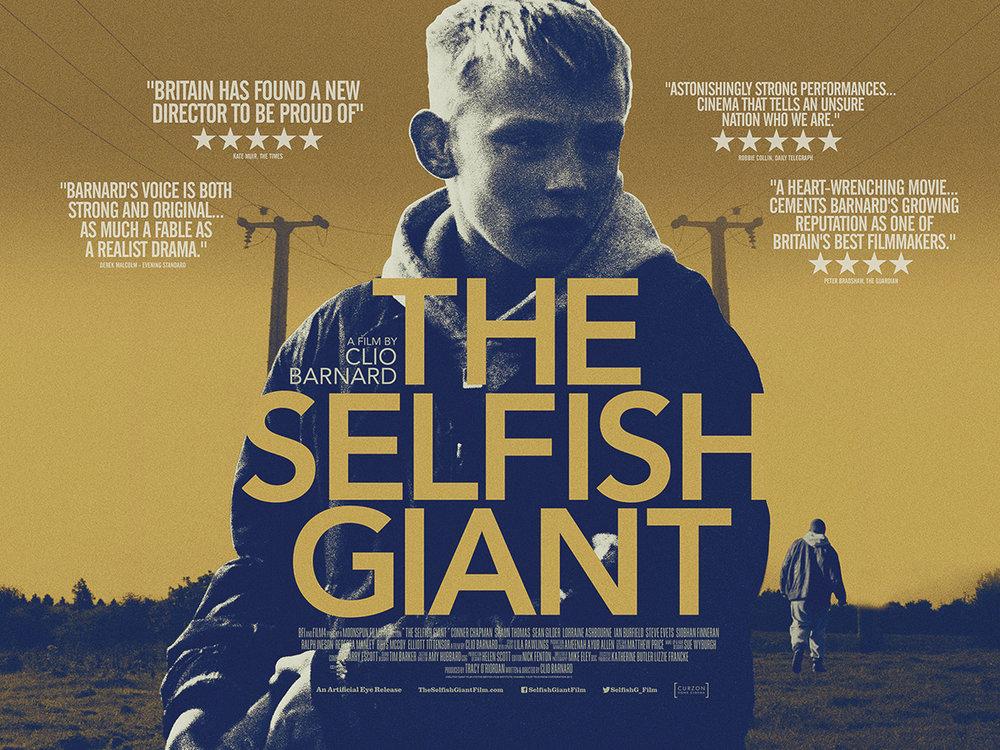 Risultati immagini per selfish giant poster