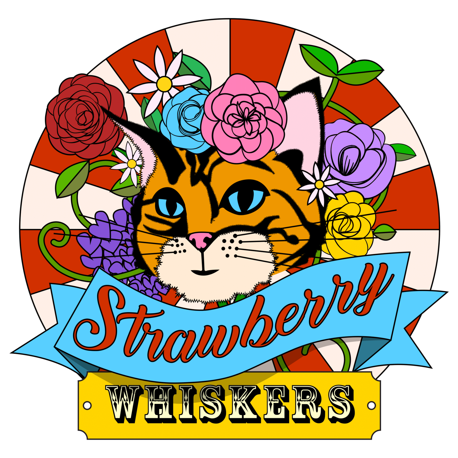 Strawberry Whiskers