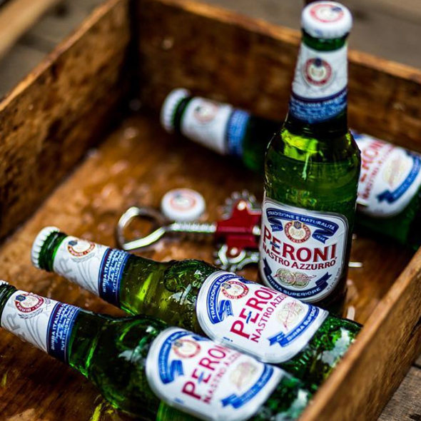 Perfect Pairings & Pics   with Peroni   Crisp and incredibly versatile, Peroni is the perfect pairing for your Lamb Jam experience. Stop by the Peroni bar, grab a beer and snap a pic with all your friends at their photobooth.