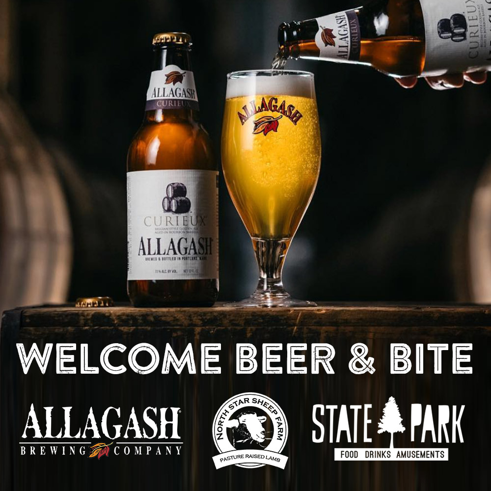 Barrel Aged Treats   from Allagash   The legendary Allagash Brewery is collaborating with State Park and North Star Sheep Farm for a barrel aged pairing to kick-off your Lamb Jam experience.