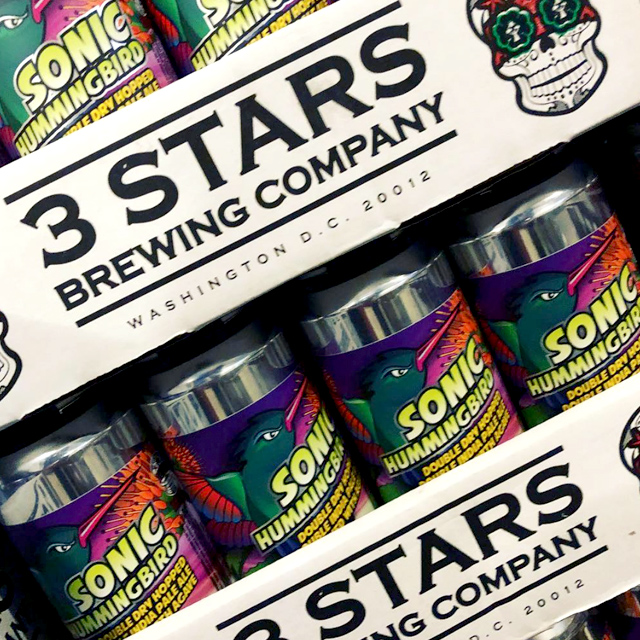 DC's Own 3 Stars    Quaff a selection of locally hand crafted artisanal ales that offer unparalleled drinking experiences.