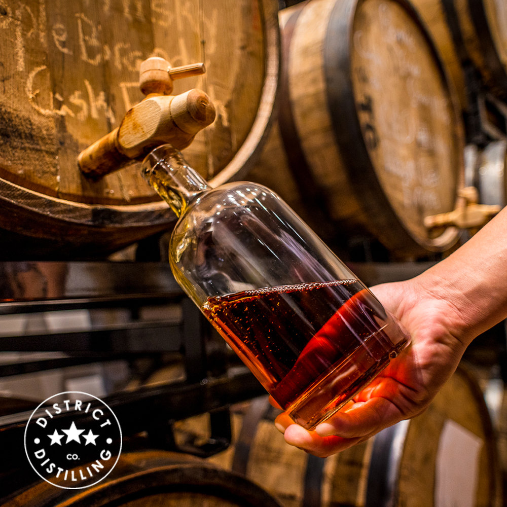 That's the Spirit!   Sip cocktails and sample an array of spirits from District Distilling, who use traditional techniques and wild foraged ingredients to produce award-winning spirits.