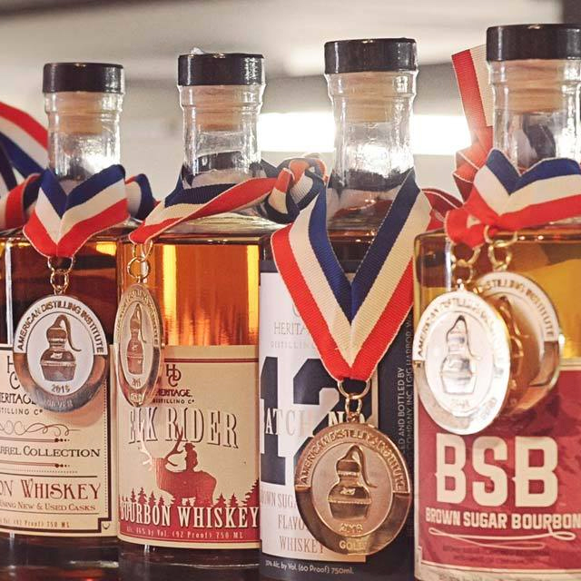 Every Spirit Has a Story.   Heritage Distilling, the most awarded craft distillery in North America, will be on hand serving up creative cocktails and tastings of their award-winning line of spirits.