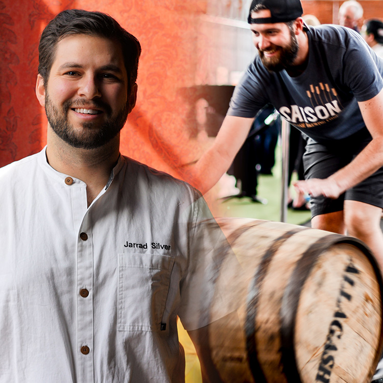 Welcome Beers & Bites   You'll be showered with tasty treats from the moment you walk in...  Allagash Brewing Company  is rollin' in the barrels of  Curieux  and chef Jarrad Silver of  Birch & Barley  is whipping up a bite inspired by the bourbon barrel aged Triple. And best of all, you have this pairing in your hand the moment you step foot in the door!