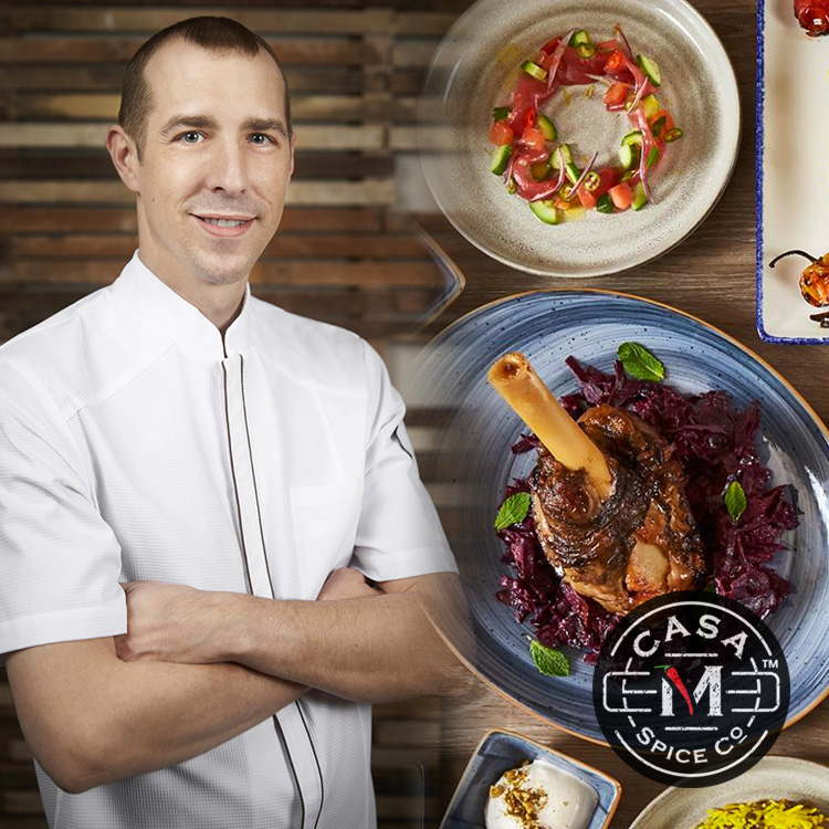 Bringin' the Spice    Chef Ryan Moore  of  Sababa  is collaborating on a can't miss lamb shank with  Casa M Spice . The dish showcases Casa M's award-winning blends and Chef Moore's incredible talent for creating flavorful Israeli cuisine.