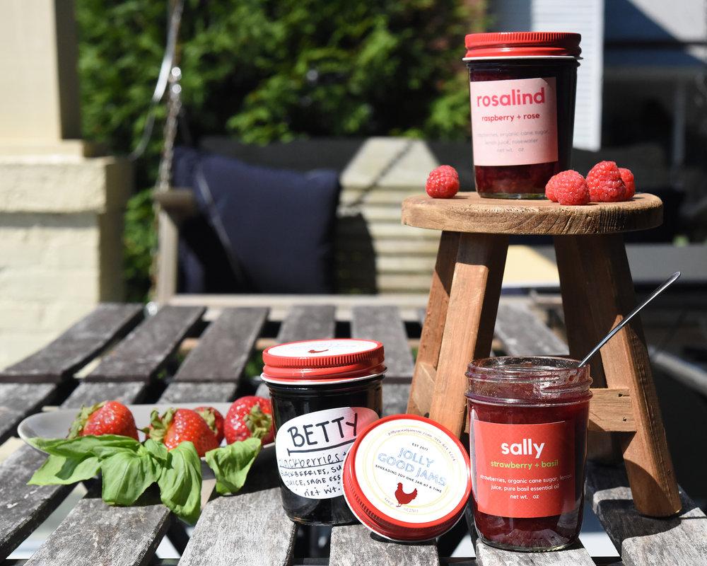 Berry Jams by Jolly Good Jams.